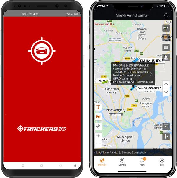 GPS TRACKER| TRACKERSBD APPS